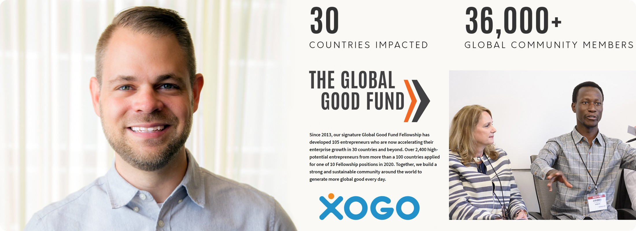 Xogo is a Part of the Global Good Fund
